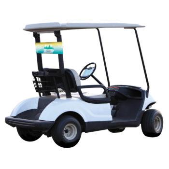 Golf Cart Banners & Decor