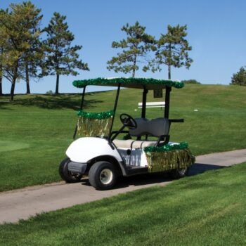 Golf Cart Banners & Decor